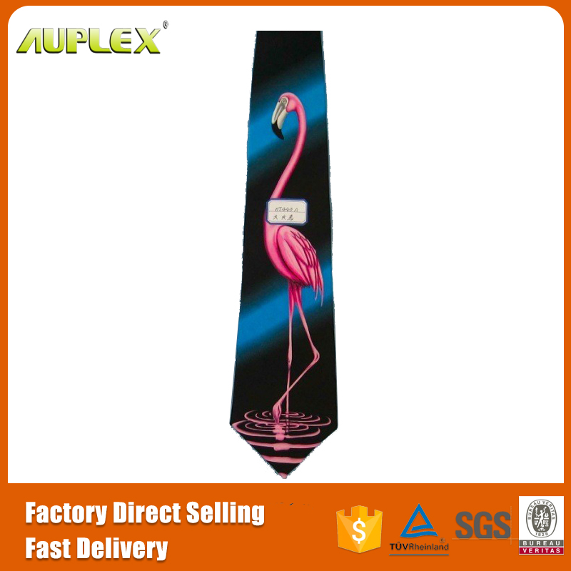 Individuality special silk necktie for sublimation printing