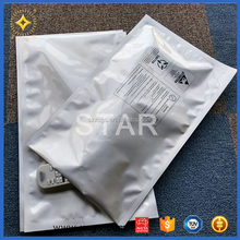 Atistatic shielding ldpe esd zip lock bags for computer cables & connectors