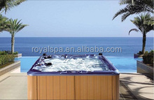 5 Persons Wholesale Low Price Sexy Massage Hot Tub Outdoor Square Spa
