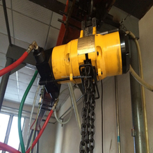 chemical industry hoist Chinese 1 ton single chain air chain hoist manufacturer