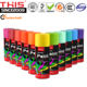 PRIMER SPRAY PAINT Car Body metallic coating aerosol protection blue white pink purple green non toxic acrylic spray paint