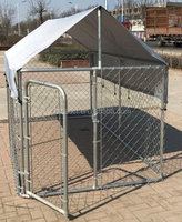 Australia outdoor large metal dog kennel/large animal cage/dog run kennel factory