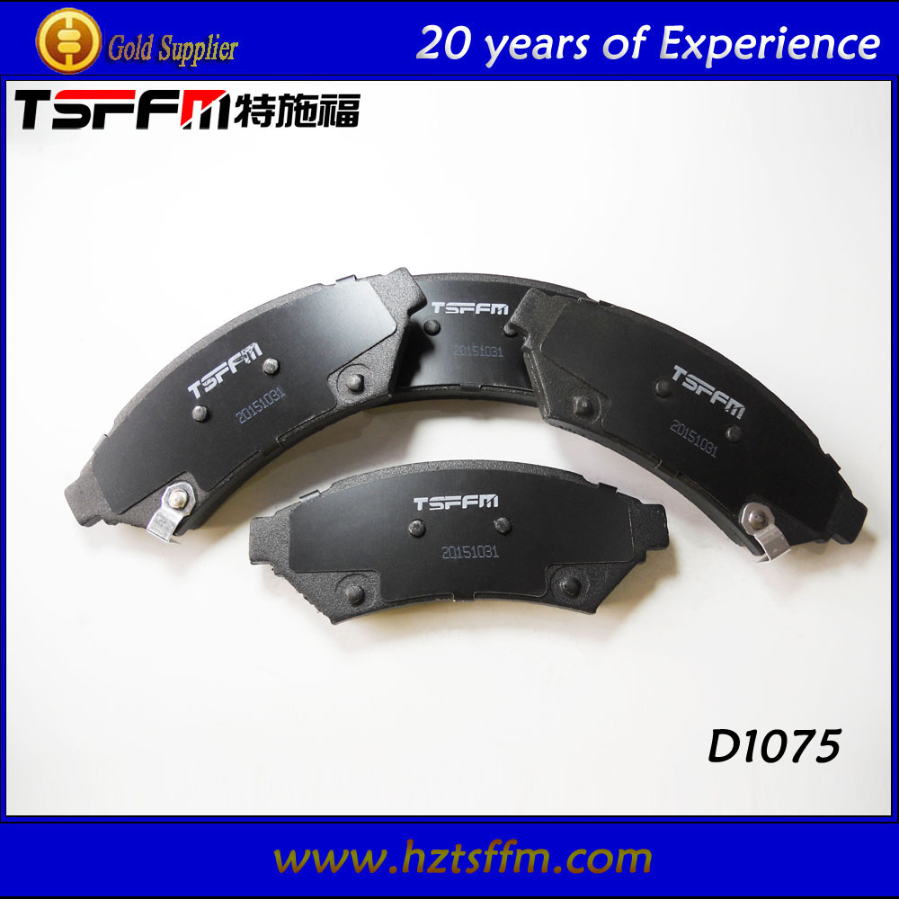 ceramic D1075 brake lining with stable firction factor
