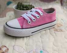 china shoes factory kids canvas shoes