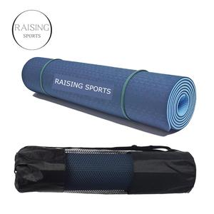 Tpe yoga mat with bag package