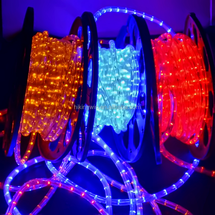 Christmas light car decoration 3 wires 36L/<strong>m</strong> 3W white color changing led light rope