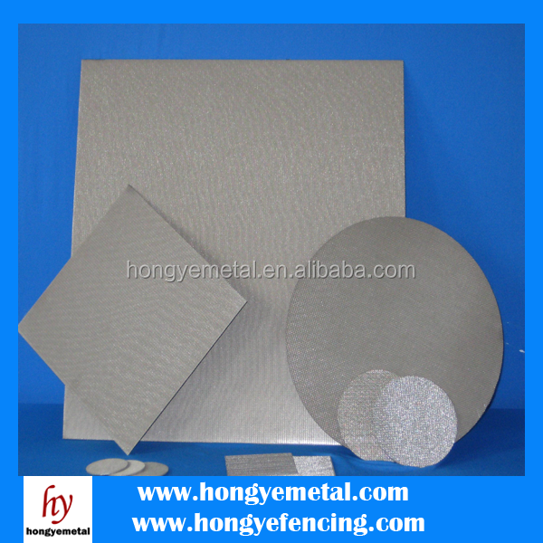 New Brass Sintering filter /metal sintered /metal sintered wire mesh of factory
