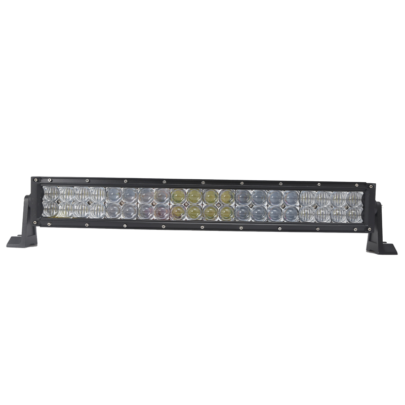 "Hot selling 120W 22""inch 6000K led light bar Curved 5D led off road light"