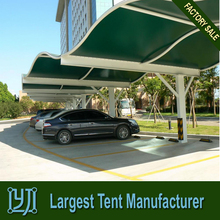 PTFE fiber glass tensile structure for shade