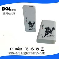rechargeable battery pack usb 10000mah with Chinese characteristcis