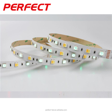 pure light tunable white flexible smd5050 rgb+cct led strips, single side/double side can be optioned