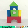 Melors Hot sale eva foam toys rubber building blocks manufacturer