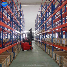 Teardrop Racking With Wire Mesh Deck Industrial Warehouse Storage USA