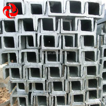 Standard Sizes Hot Rolled Carbon Steel U Channel for construction