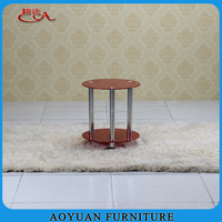 Wholesale home furniture stainless leg glass top bar table