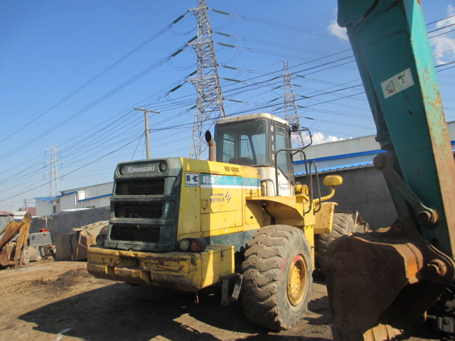 Kawasaki wheel loader 85Z KLD85Z used loader 85z for sale