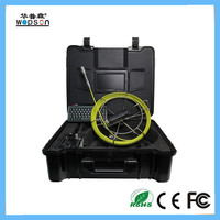 CCTV Foldable keyboard of pipe camera inspection