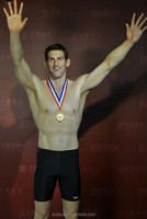 Celebrity silicone wax figure sports star figure Phelps