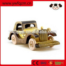 Factory Supplying children small wooden real car models
