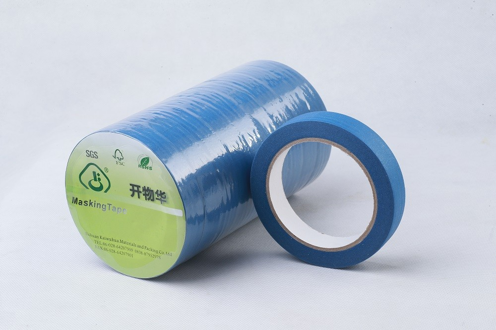 Single sided adhesive conductive tape glue masking tape on windows