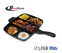 SWEDEN 38CM 5 IN 1 MUTI FUCTION GRILL PAN NONSTICK GRILL PAN