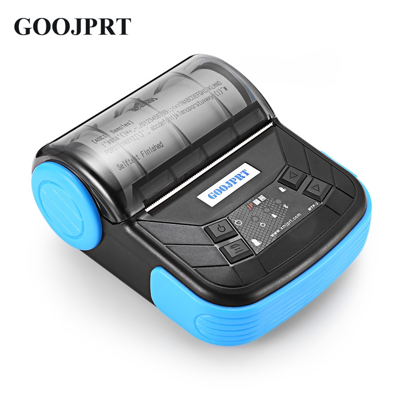 GOOJPRT MTP-3 Mini portable 80mm Bluetooth thermal <strong>Printer</strong> with ESC/POS Protocol