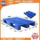 FORM E! 100%HDEP/PP Standard Racking Pallet ZJ1208-155 mesh three skid plastic pallet with iron bar