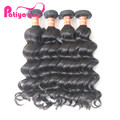 Real Mink 8-40 Inch Natural Human Hair Extensions,Free Sample Free Shipping Perfect Wave Hair Extensions