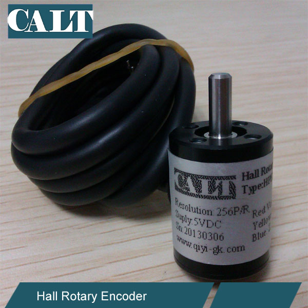Micr HPE18 4mm shaft hall effect rotary encoder ip65