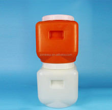 Big plastic jar container with lid 12.5L plastic drum for food