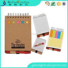Wholesale notebook printing phone number notebook full color