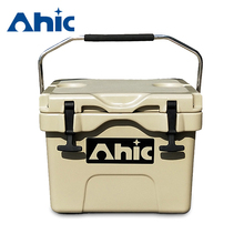 AHIC Hot sale Portable Beer Cooler Box Large Ice Box Plastic Cooler Box
