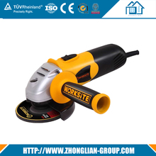 China 900w wet reversible electric mini cordless angle grinder