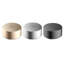 Original Xiaomi Pocket Bluetooth Speakers Portable Wireless Mini Stereo Metal Body Subwoofer Audio Receiver with Built-in Mic