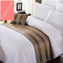 Wholesale 300 Thread Count Cotton Sateen Duvet Cover 4pc White, Hotel Used Bed Sheet Set