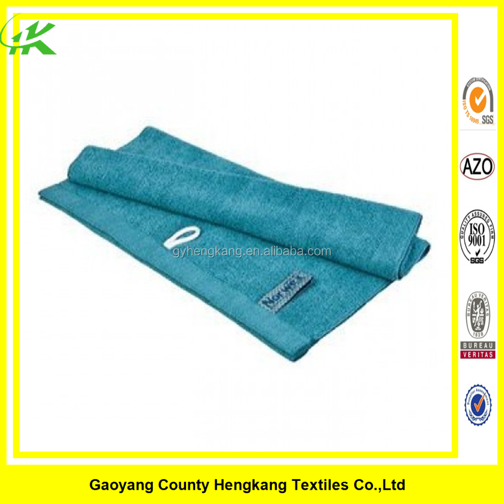 Cheap 100% Cotton Bath Towel With Hanging Rope