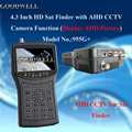 "Top Quality 4.3""Handheld HD Sat Finder support DVB-S2/MPEG-4 Signal Test , AHD CCTV Camera"