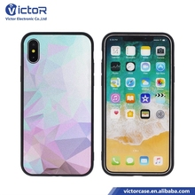 good price cellular accessories cell phone combo matte cover for iphone X with PC TPU
