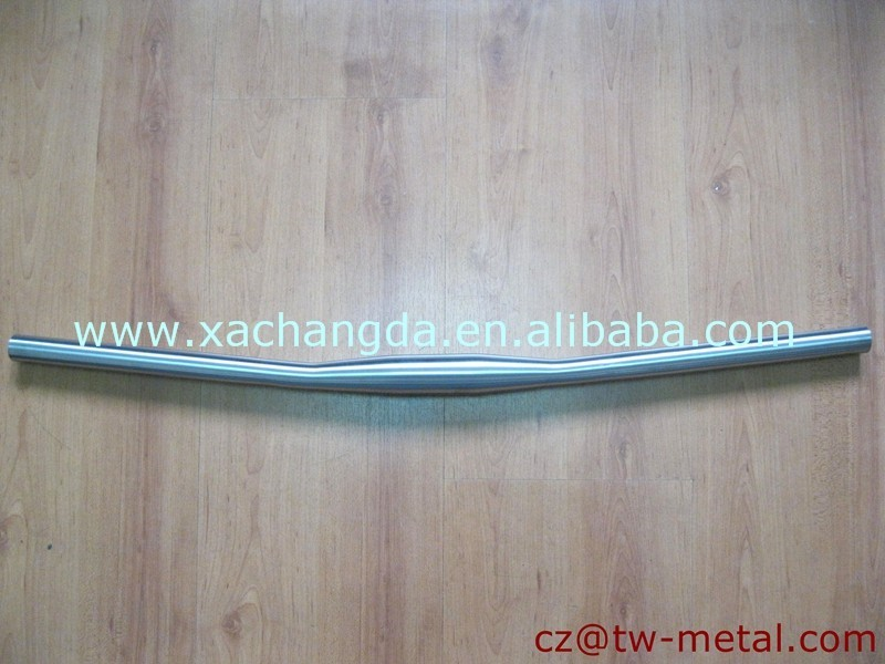 Titanium mountain bicycle handlebar titanium mtb bike handle bar customized