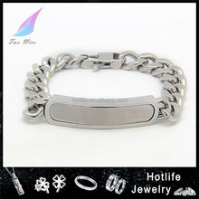 gay pride jewelry 316L cuban chain bracelet old fashioned charm bracelets