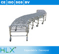 Portable Gravity Steel Retractable Wheel Conveyor for Sale