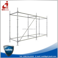 Building ring lock scaffolding for construction