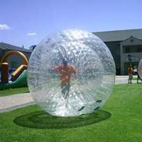 Giant plastic bubble clear inflatable zorb balls for sale