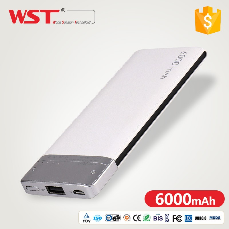 Wholesale Cheap Price long product 5V 2A advertising power bank