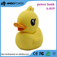 new product cartoon design little duck power bank