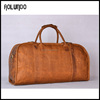 Top sale cheap leather travel bag cowhide luggage bag