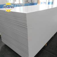 JINBAO factory hot sale pvc foam board, pvc sheet, forex celuka board