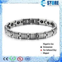 Fashion jewelry 2015 Health Power Stainless Steel Bracelet