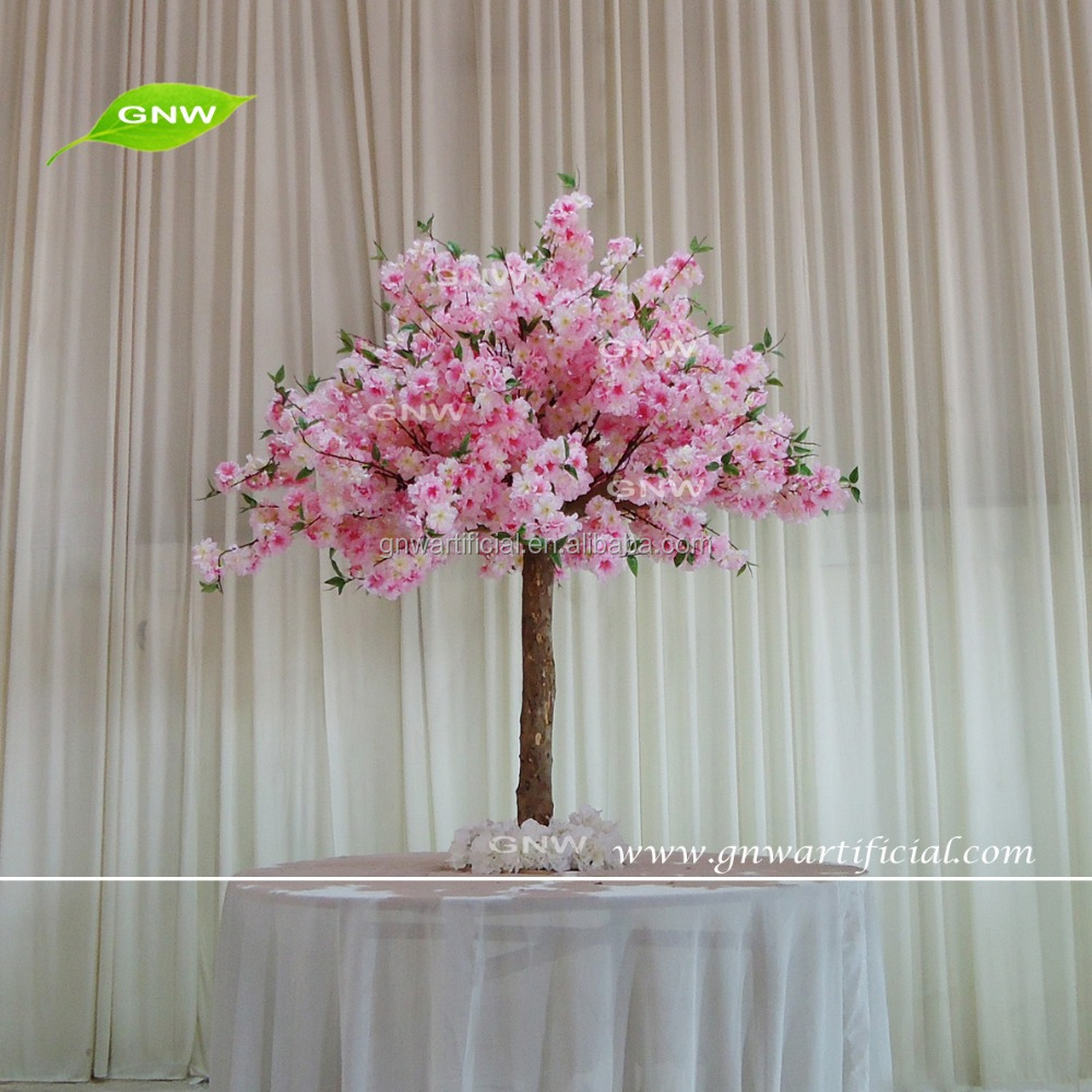 GNW CTR1605007-A wholesale wedding supplies red cherry blossom tree wedding decoration table centerpieces