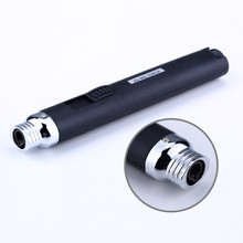 Refillable Protable Pencil Jet Torch Camping Cigarette Cigar Butane Gas Lighter
